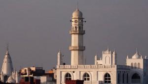 Qadian_rooftop_and_Minaratul_Masih